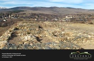 Castellot de Bolvir museographic site project