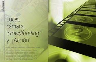 Luces, cámara, crowdfunding y Acción! Reportaje