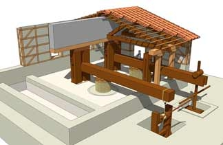 Premsas Cella Vinaria/ structural project and production